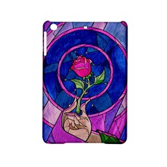 Enchanted Rose Stained Glass Ipad Mini 2 Hardshell Cases by Onesevenart