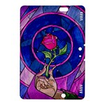 Enchanted Rose Stained Glass Kindle Fire HDX 8.9  Hardshell Case