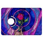 Enchanted Rose Stained Glass Kindle Fire HDX Flip 360 Case