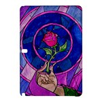 Enchanted Rose Stained Glass Samsung Galaxy Tab Pro 10.1 Hardshell Case