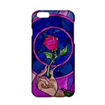 Enchanted Rose Stained Glass Apple iPhone 6/6S Hardshell Case