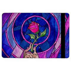 Enchanted Rose Stained Glass Ipad Air 2 Flip by Onesevenart