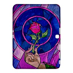 Enchanted Rose Stained Glass Samsung Galaxy Tab 4 (10 1 ) Hardshell Case  by Onesevenart