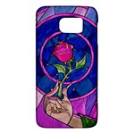 Enchanted Rose Stained Glass Galaxy S6