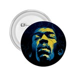 Gabz Jimi Hendrix Voodoo Child Poster Release From Dark Hall Mansion 2.25  Buttons