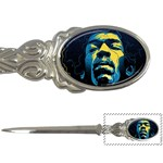 Gabz Jimi Hendrix Voodoo Child Poster Release From Dark Hall Mansion Letter Openers