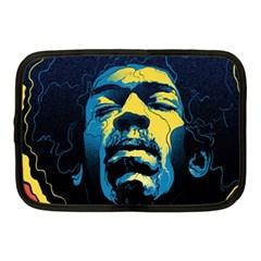 Gabz Jimi Hendrix Voodoo Child Poster Release From Dark Hall Mansion Netbook Case (medium)  by Onesevenart