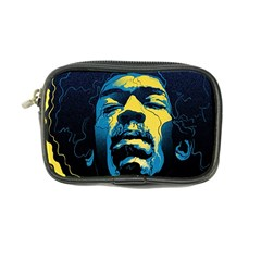 Gabz Jimi Hendrix Voodoo Child Poster Release From Dark Hall Mansion Coin Purse by Onesevenart