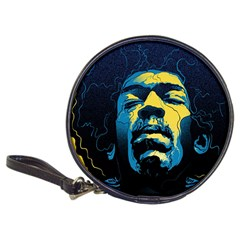 Gabz Jimi Hendrix Voodoo Child Poster Release From Dark Hall Mansion Classic 20 Cd Wallets by Onesevenart