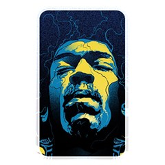 Gabz Jimi Hendrix Voodoo Child Poster Release From Dark Hall Mansion Memory Card Reader by Onesevenart