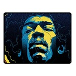 Gabz Jimi Hendrix Voodoo Child Poster Release From Dark Hall Mansion Fleece Blanket (Small)