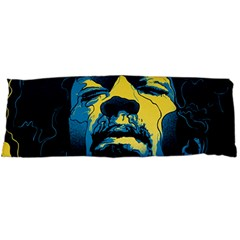 Gabz Jimi Hendrix Voodoo Child Poster Release From Dark Hall Mansion Body Pillow Case Dakimakura (two Sides) by Onesevenart