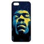 Gabz Jimi Hendrix Voodoo Child Poster Release From Dark Hall Mansion Apple iPhone 5 Seamless Case (Black)
