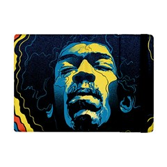 Gabz Jimi Hendrix Voodoo Child Poster Release From Dark Hall Mansion Apple Ipad Mini Flip Case by Onesevenart
