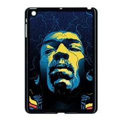 Gabz Jimi Hendrix Voodoo Child Poster Release From Dark Hall Mansion Apple Ipad Mini Case (black) by Onesevenart