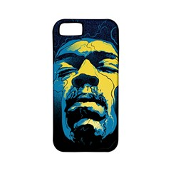 Gabz Jimi Hendrix Voodoo Child Poster Release From Dark Hall Mansion Apple Iphone 5 Classic Hardshell Case (pc+silicone) by Onesevenart