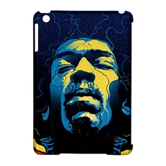Gabz Jimi Hendrix Voodoo Child Poster Release From Dark Hall Mansion Apple Ipad Mini Hardshell Case (compatible With Smart Cover) by Onesevenart