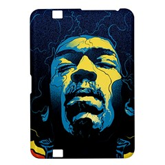 Gabz Jimi Hendrix Voodoo Child Poster Release From Dark Hall Mansion Kindle Fire Hd 8 9  by Onesevenart