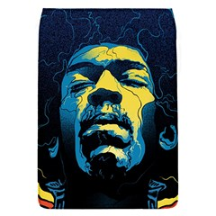Gabz Jimi Hendrix Voodoo Child Poster Release From Dark Hall Mansion Flap Covers (s)  by Onesevenart