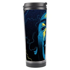Gabz Jimi Hendrix Voodoo Child Poster Release From Dark Hall Mansion Travel Tumbler by Onesevenart
