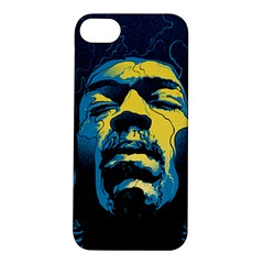 Gabz Jimi Hendrix Voodoo Child Poster Release From Dark Hall Mansion Apple Iphone 5s/ Se Hardshell Case by Onesevenart