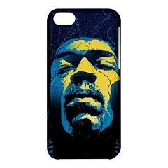 Gabz Jimi Hendrix Voodoo Child Poster Release From Dark Hall Mansion Apple Iphone 5c Hardshell Case by Onesevenart