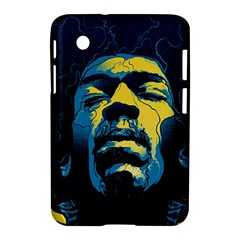 Gabz Jimi Hendrix Voodoo Child Poster Release From Dark Hall Mansion Samsung Galaxy Tab 2 (7 ) P3100 Hardshell Case  by Onesevenart