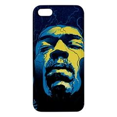 Gabz Jimi Hendrix Voodoo Child Poster Release From Dark Hall Mansion Iphone 5s/ Se Premium Hardshell Case by Onesevenart