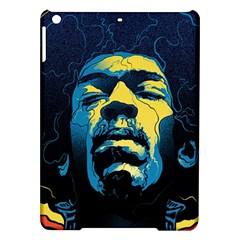 Gabz Jimi Hendrix Voodoo Child Poster Release From Dark Hall Mansion Ipad Air Hardshell Cases by Onesevenart