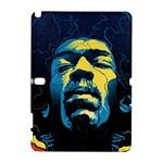 Gabz Jimi Hendrix Voodoo Child Poster Release From Dark Hall Mansion Samsung Galaxy Note 10.1 (P600) Hardshell Case