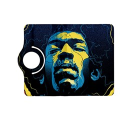 Gabz Jimi Hendrix Voodoo Child Poster Release From Dark Hall Mansion Kindle Fire Hd (2013) Flip 360 Case by Onesevenart
