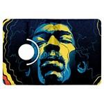 Gabz Jimi Hendrix Voodoo Child Poster Release From Dark Hall Mansion Kindle Fire HDX Flip 360 Case
