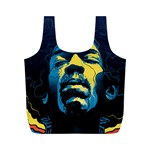 Gabz Jimi Hendrix Voodoo Child Poster Release From Dark Hall Mansion Full Print Recycle Bags (M)