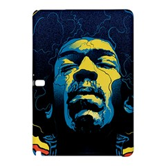 Gabz Jimi Hendrix Voodoo Child Poster Release From Dark Hall Mansion Samsung Galaxy Tab Pro 10 1 Hardshell Case by Onesevenart
