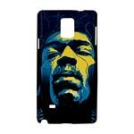 Gabz Jimi Hendrix Voodoo Child Poster Release From Dark Hall Mansion Samsung Galaxy Note 4 Hardshell Case