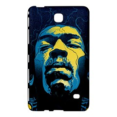 Gabz Jimi Hendrix Voodoo Child Poster Release From Dark Hall Mansion Samsung Galaxy Tab 4 (7 ) Hardshell Case  by Onesevenart
