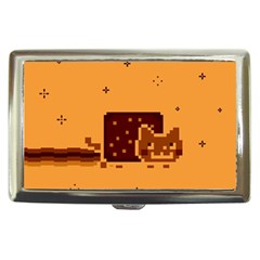 Nyan Cat Vintage Cigarette Money Cases by Onesevenart