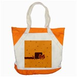 Nyan Cat Vintage Accent Tote Bag