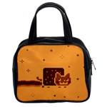 Nyan Cat Vintage Classic Handbags (2 Sides)