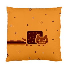 Nyan Cat Vintage Standard Cushion Case (two Sides) by Onesevenart