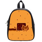 Nyan Cat Vintage School Bags (Small)