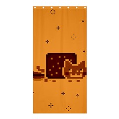 Nyan Cat Vintage Shower Curtain 36  X 72  (stall)  by Onesevenart