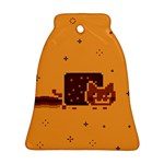 Nyan Cat Vintage Bell Ornament (2 Sides)