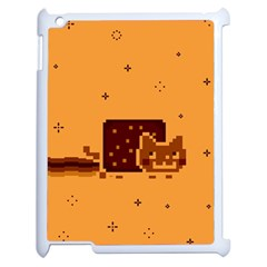 Nyan Cat Vintage Apple Ipad 2 Case (white) by Onesevenart