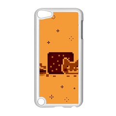 Nyan Cat Vintage Apple Ipod Touch 5 Case (white) by Onesevenart