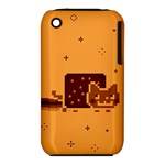Nyan Cat Vintage Apple iPhone 3G/3GS Hardshell Case (PC+Silicone)