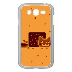 Nyan Cat Vintage Samsung Galaxy Grand Duos I9082 Case (white) by Onesevenart