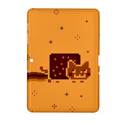 Nyan Cat Vintage Samsung Galaxy Tab 2 (10 1 ) P5100 Hardshell Case  by Onesevenart