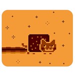Nyan Cat Vintage Double Sided Flano Blanket (Medium)