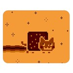 Nyan Cat Vintage Double Sided Flano Blanket (Large)